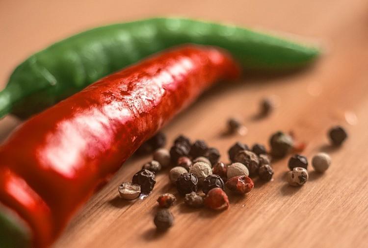 Жгучий перец Согревающие специи
