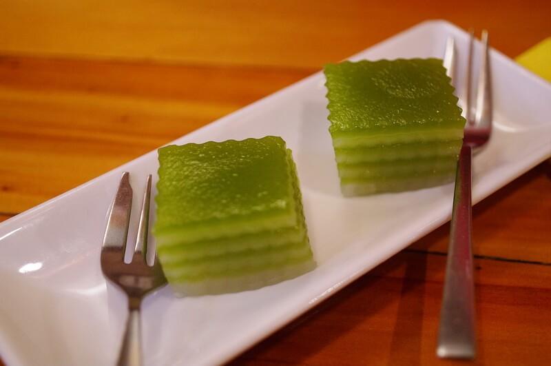 тайские десерты: кханом чан