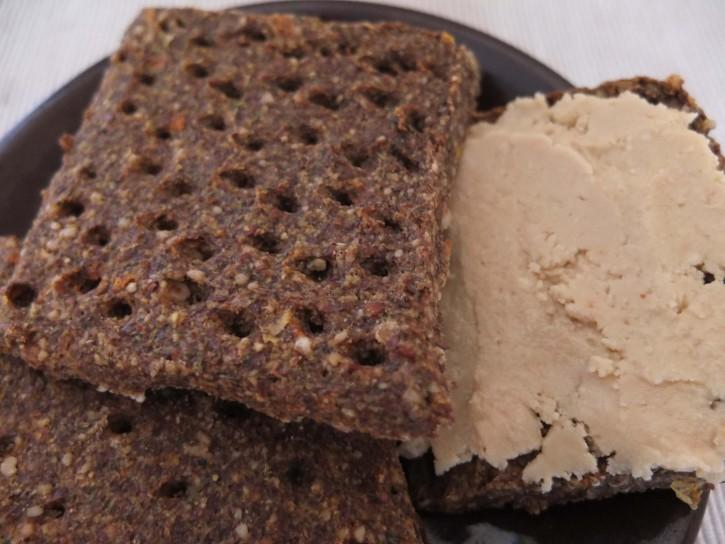 эко лавка черника хлебцы и арахисовая паста