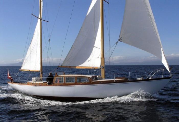 яхта 50 м