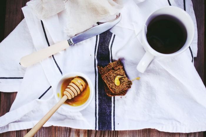 мед на пикнике