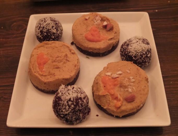 сыроедные десерты