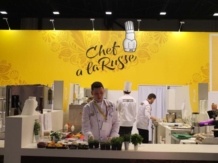 chef a la Russe