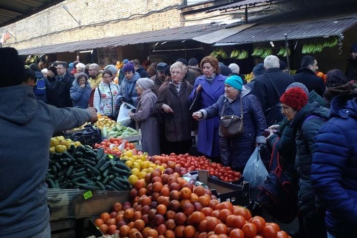 помидоры на Сенной
