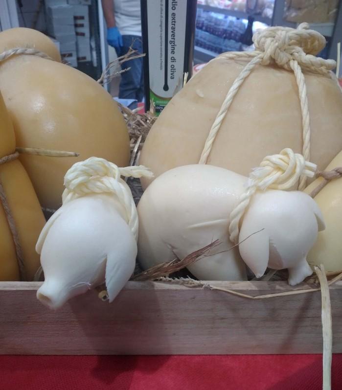 фигурки из сыра