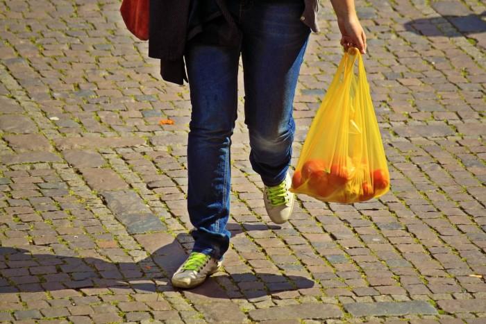 пакет Грузия пластик