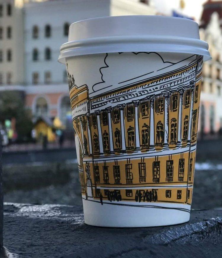 стаканчики кофе