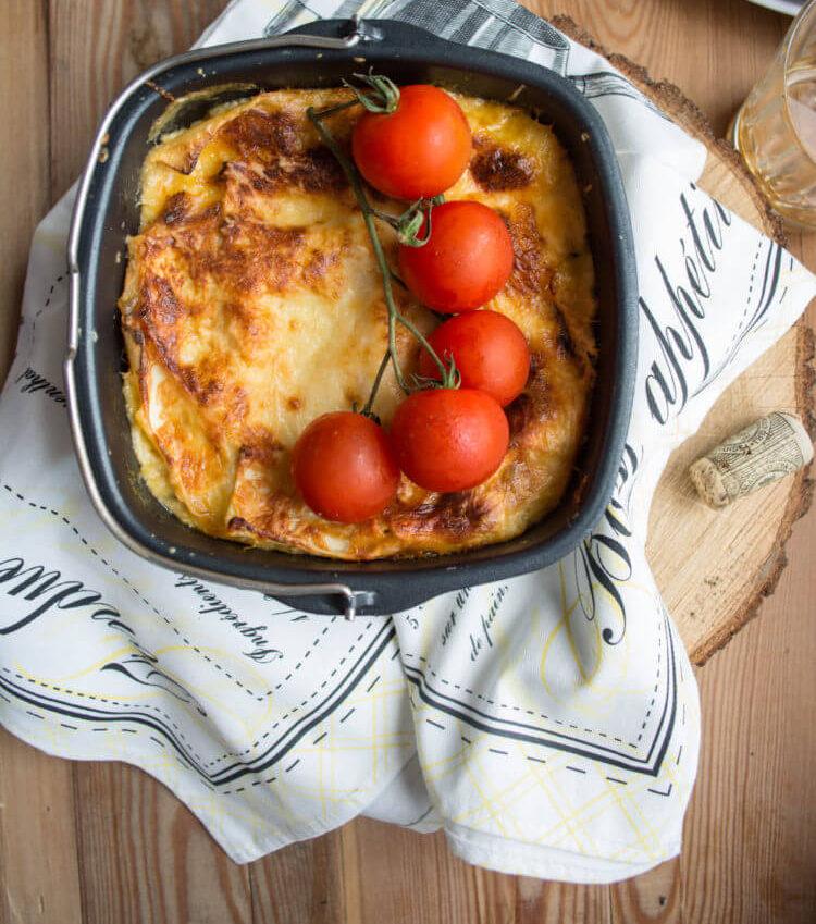 вегетарианская лазанья как приготовить