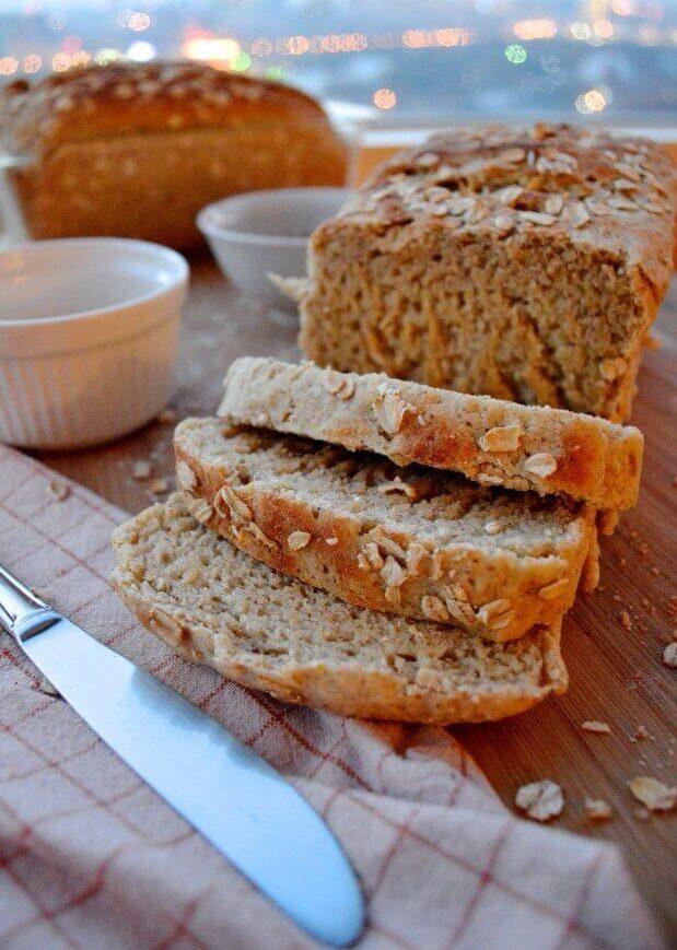 домашний мультизерновой хлеб