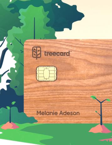 первая деревянная дебетовая карта