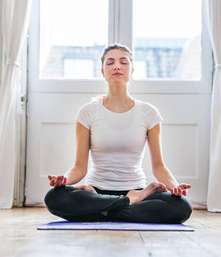 медитация йога X fit 4