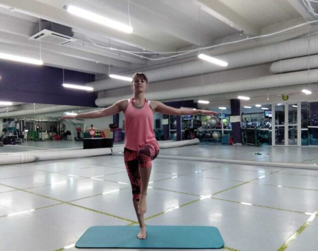 Развить баланс тренируем баланс