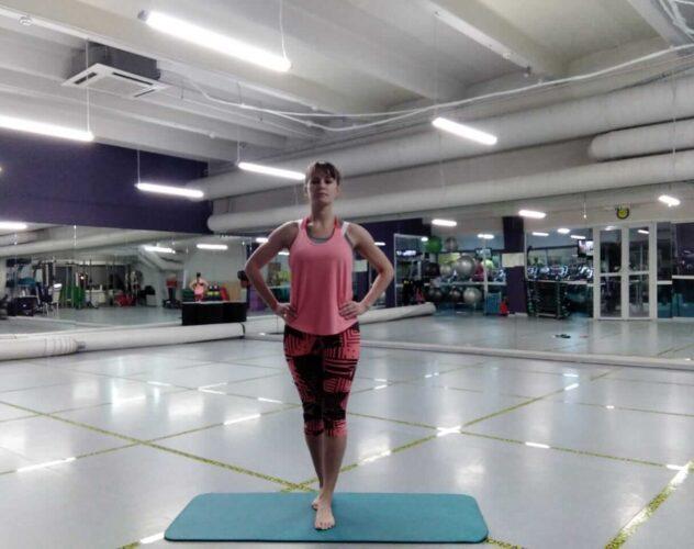 Развить баланс упражнения
