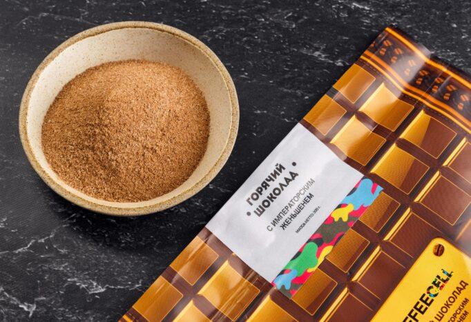 горячий шоколад с императорским женьшенем Coffeecell