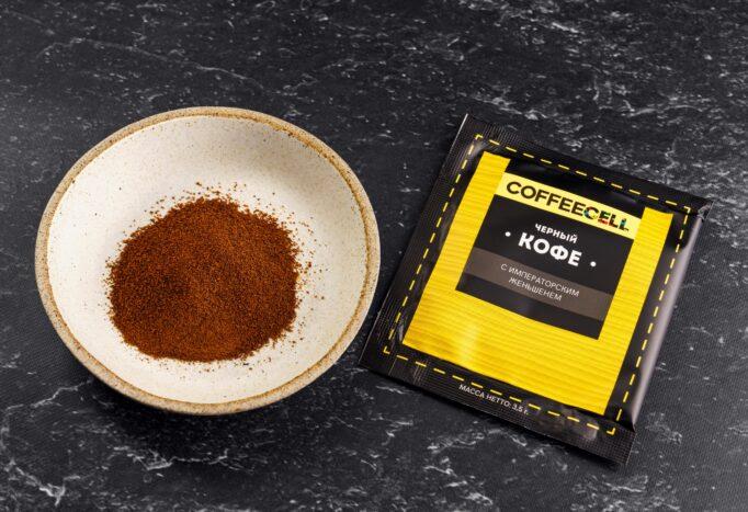 черный кофе с императорским женьшенем Coffeecell