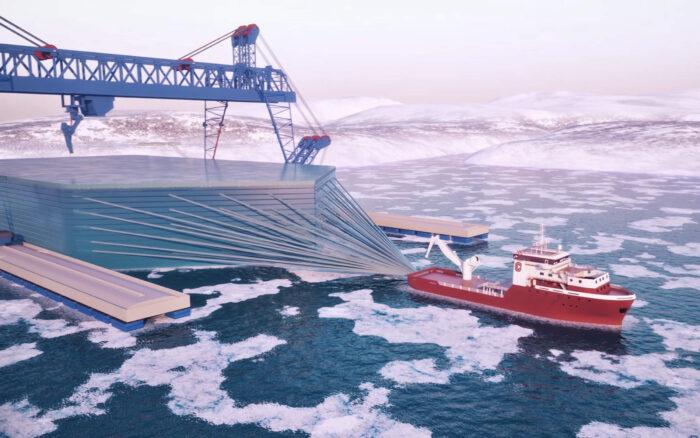 транспортировка айсбергов icetech 3