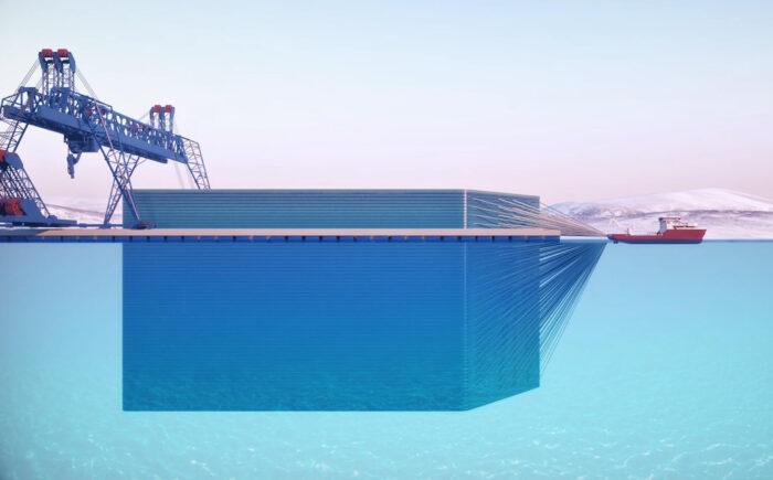 транспортировка айсбергов icetech