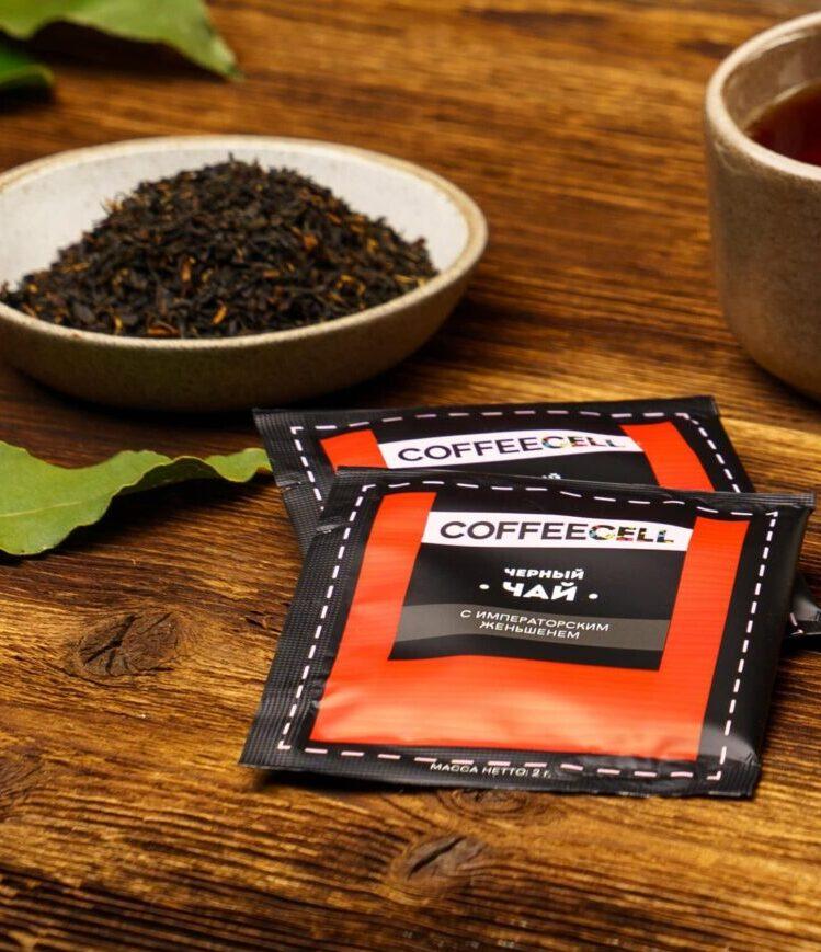 чай с императорским женьшенем Coffeecell с чайником