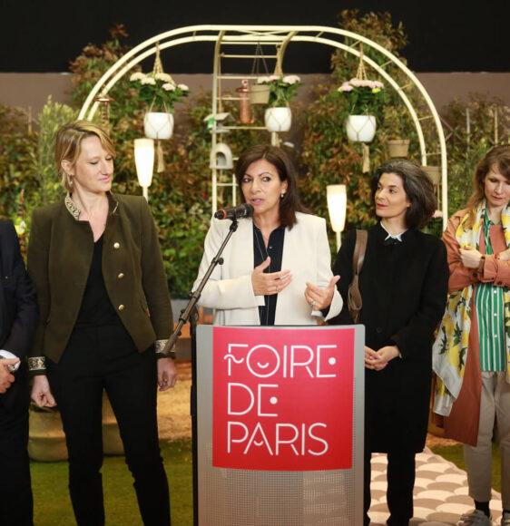 Анн Идальго Мэр Парижа фото