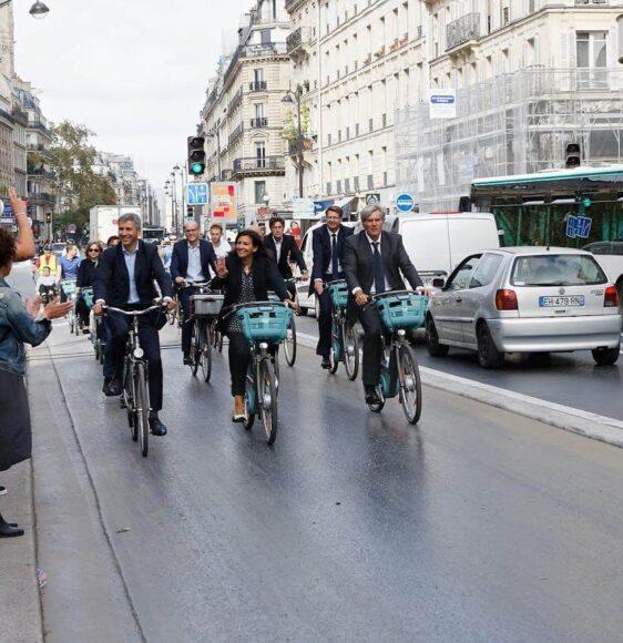 Анн Идальго мэр Парижа 2021