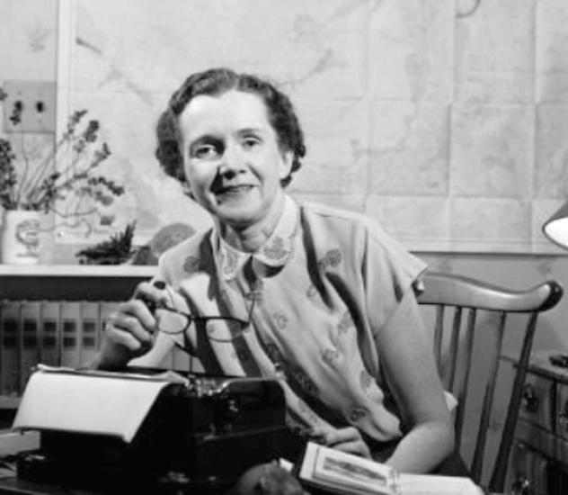 Рейчел Карсон биолог, писательница, ученая
