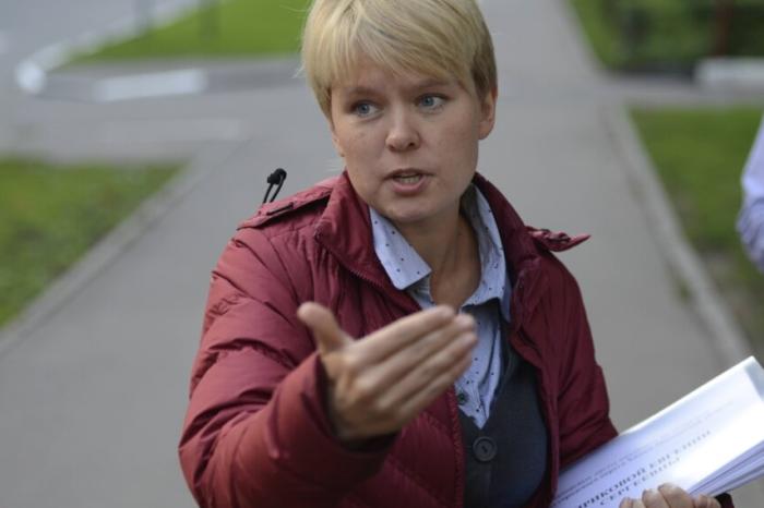 Евгения Чирикова Активистка