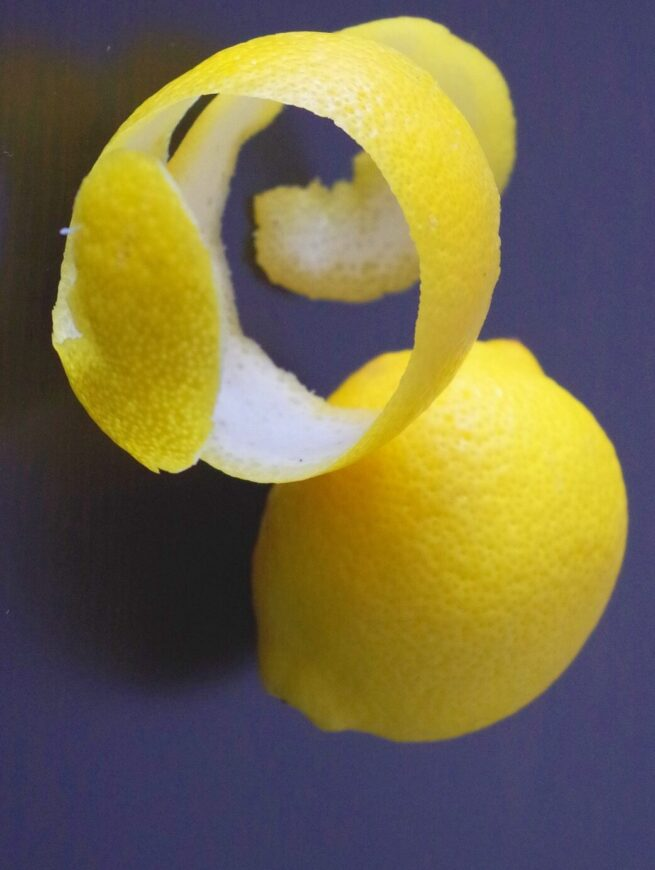 что делать с цедрой лимона