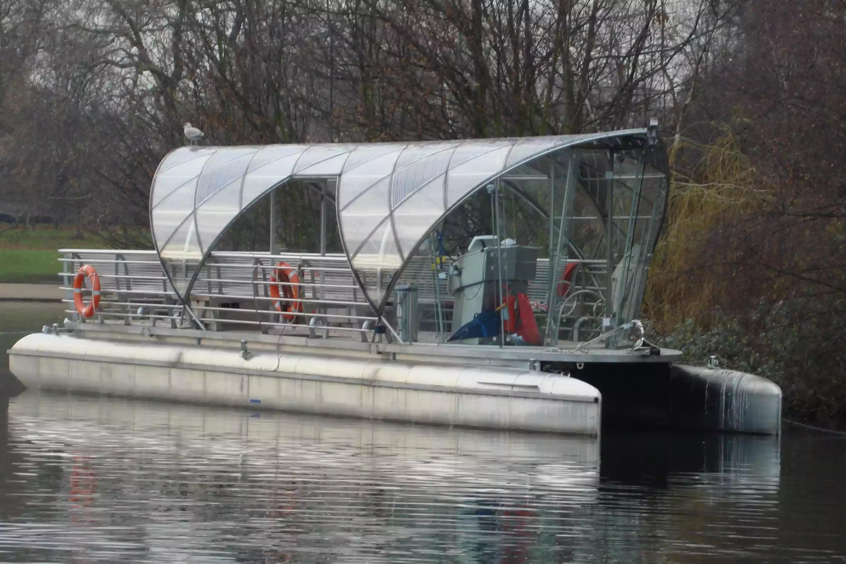 лодки на солнечных батареях 1