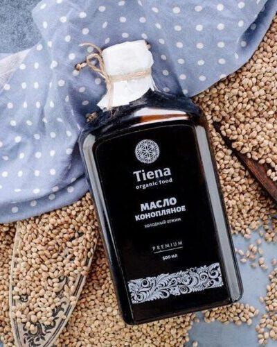 масло конопляное Tiena