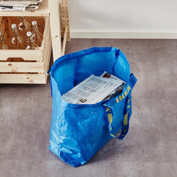многоразовая сумка ИКЕА frakta