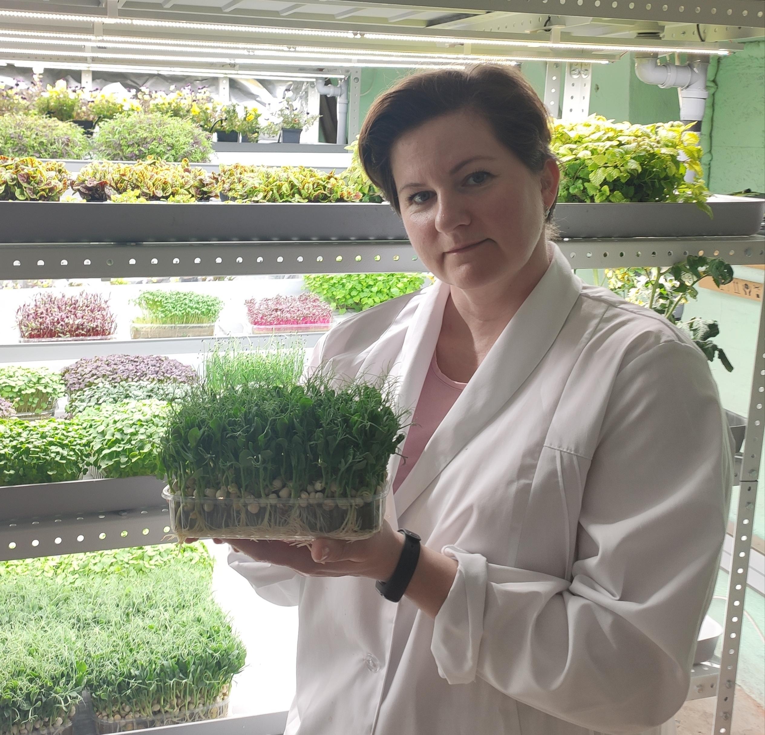 Ирина Радченко агроном и руководитель производственной компании ПК Расти