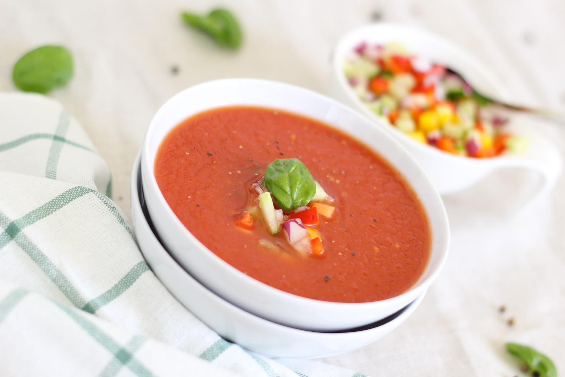 суп томатный Bernadette Wurzinger с сайта Pixabay