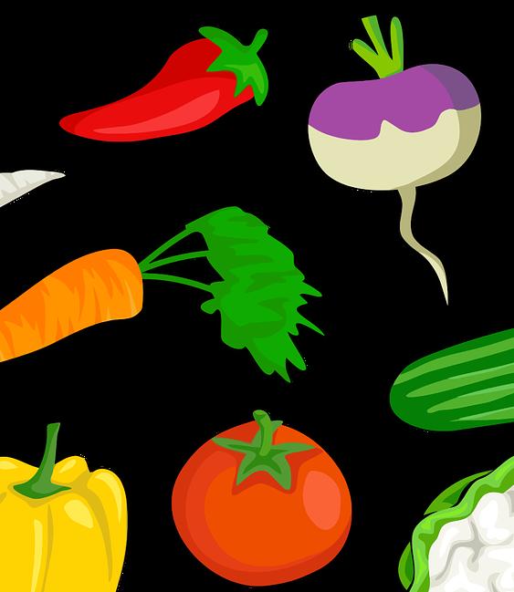 Овощи картинка OpenClipart-Vectors с сайта Pixabay