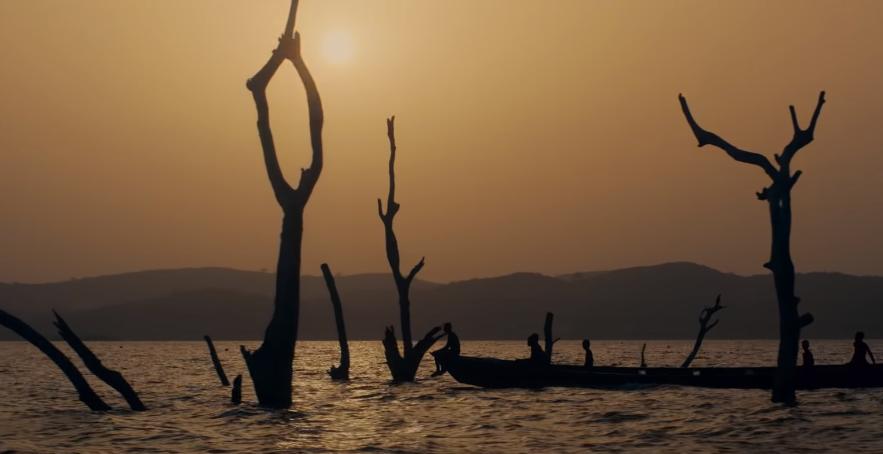 озеро вольта Гана скрин