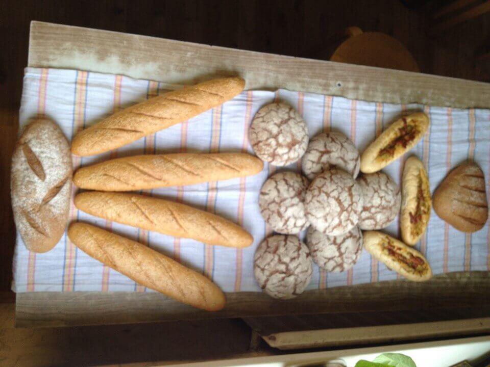 батон и хлеб