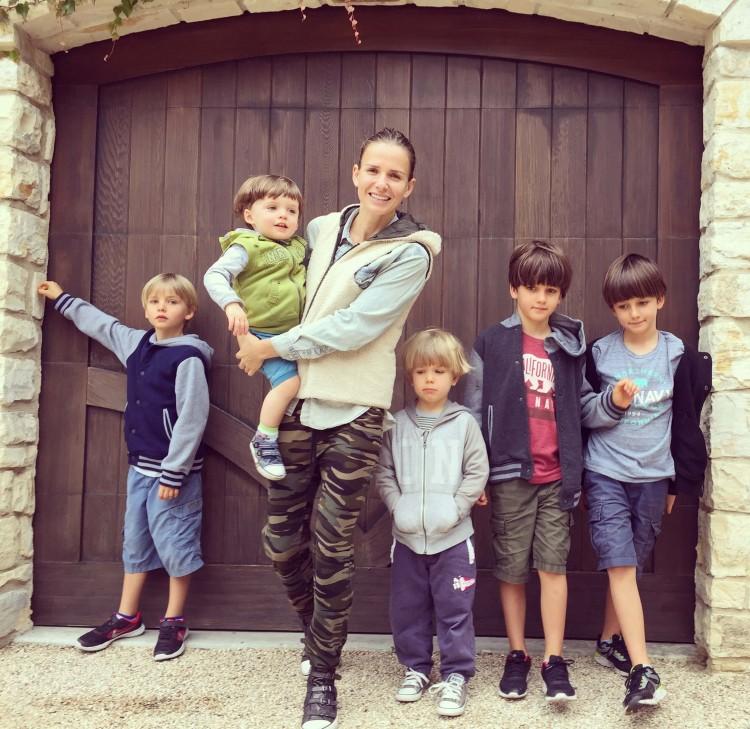 Лида Зинченко и ее дети