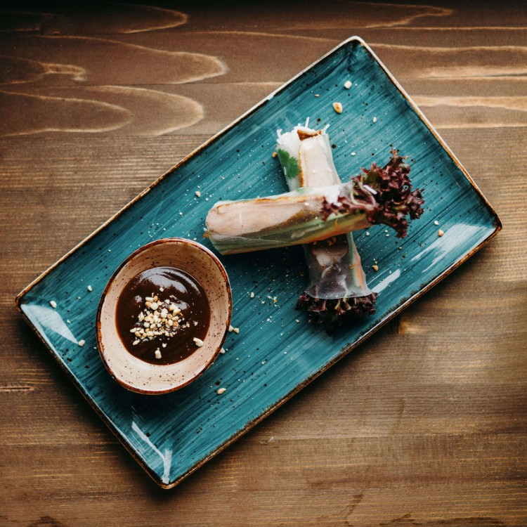 Фреш ролл с овощами и тофу