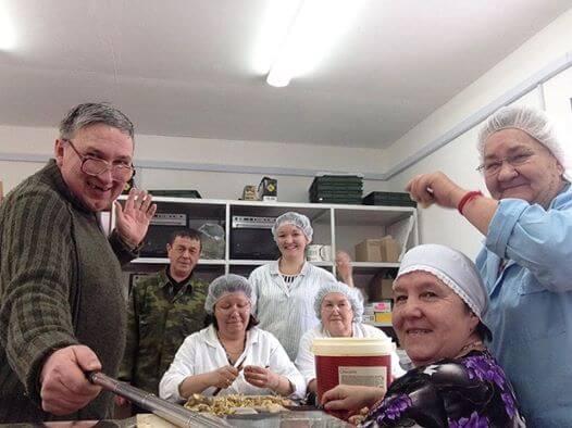 Равиль Санжапов с коллективом
