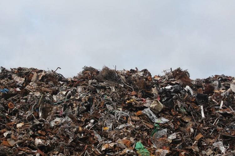свалка мусорная