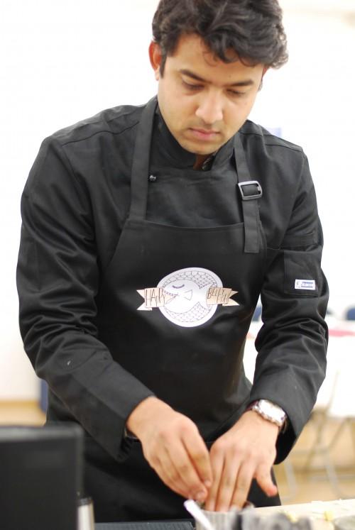 Шрикант повар из Индии