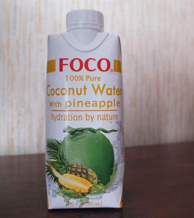 эко лавка черника кокосовая вода с ананасом