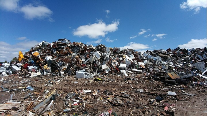 свалка мусора