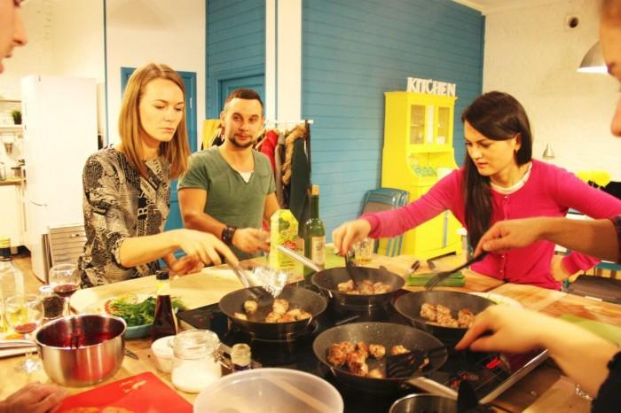 кухня школа