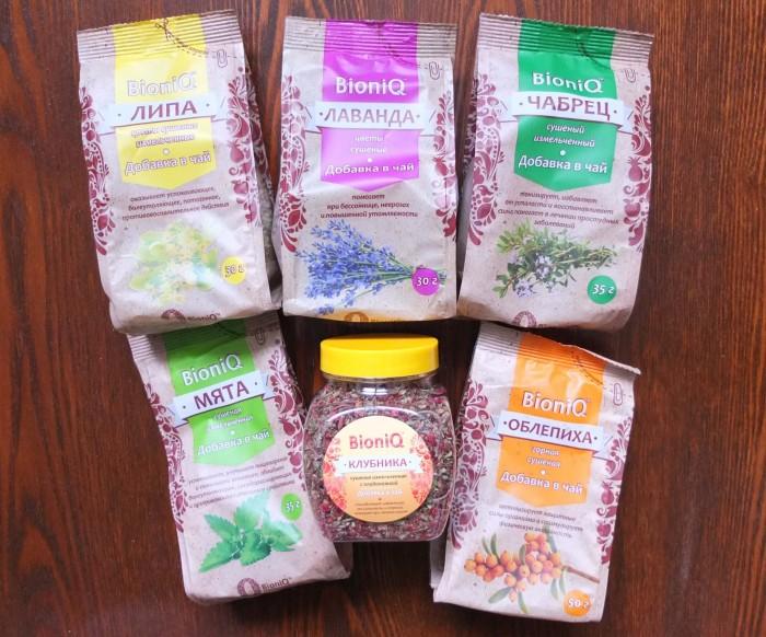 добавки в чай бионик