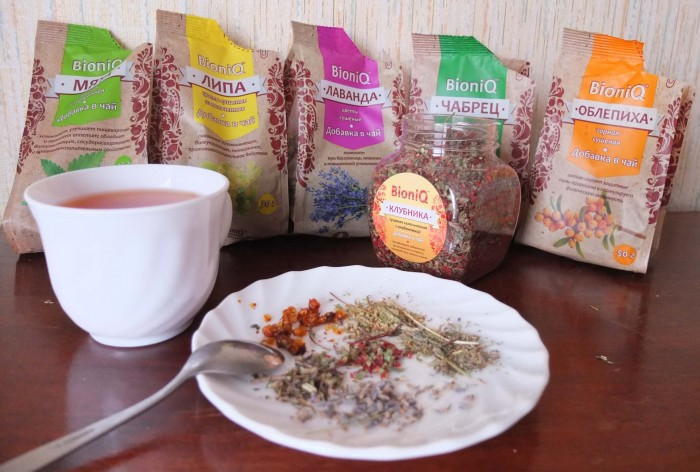 тест добавок в чай