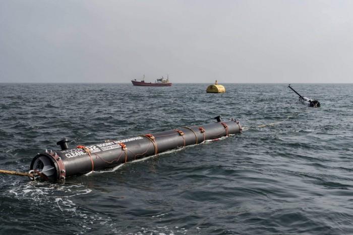 очистка океана система Слата