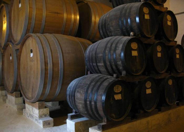 бочки с вином