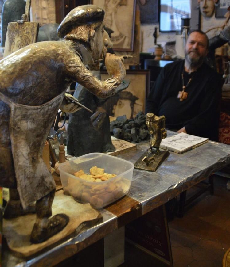 Кукольная скульптура 2